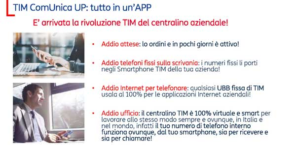 Tim Comunica Up | Tutto in un app